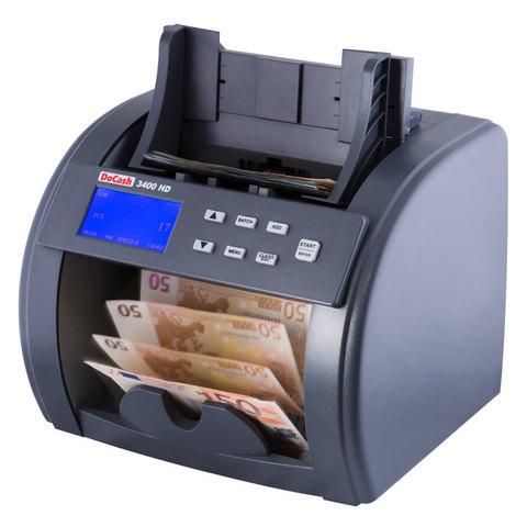 Счетчик банкнот DoCash 3400 Heavy Duty SD