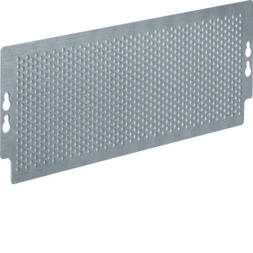Панель монтажная перфорированная, для щитков Volta мультимедиа, 95x265мм, с крепежом, сталь оцинкованная