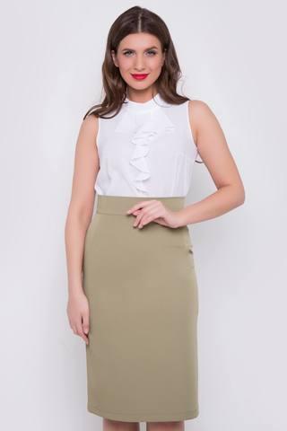 <p>Неподвластный ни капризам моды, ни времени предмет женского гардероба. Будет смотреться эффектно как в составе строгого делового костюма, так и в соблазнительном вечернем образе. (Длина: 44,46,48 = 63см; 50=64см; 52=65см;) пояс с замком</p>