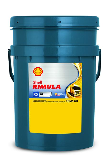 Shell Rimula R5 M 10W40 Синтетическое моторное масло
