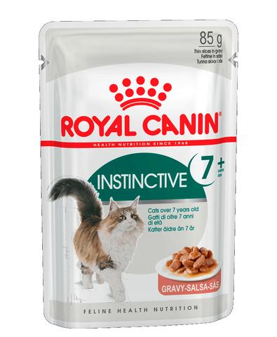 Royal Canin Instinctive 7+ пауч для кошек старше 7 лет кусочки в соусе мясо 85 г