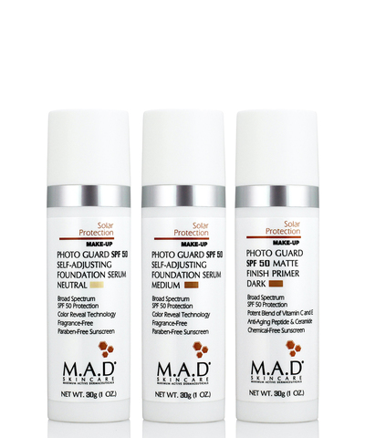 Матирующий крем-праймер с защитой Solar Protection Photo Guard SPF 50 Matte Finish Primer, Medium, M.A.D Skincare, 30 гр