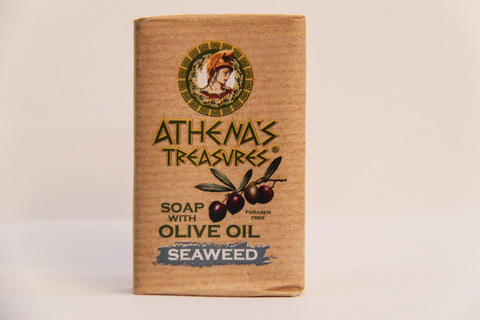 Мыло ATHENA'S TREASURES морские водоросли