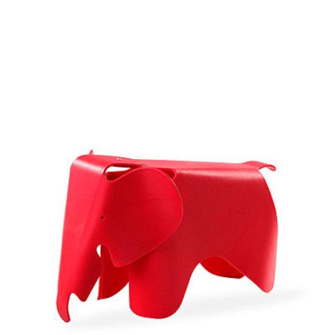 Детский стул Eames Elephant by Vitra (красный)