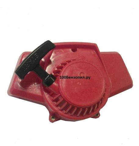 Стартер для мотопомпы и бензокос с верхним баком (стальные усы)
