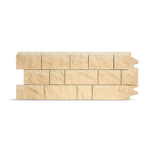 Фасадная панель Деке Скала 1052х425 мм Слоновая кость