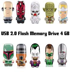 Mimobot USB 2.0 Flash Memory Drive 4 GB