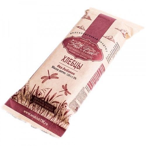 Хлебцы пшеничные бездрожжевые пророщенные, Эко-хлеб, Без добавок, 120 г