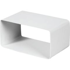 Соединитель прямоугольный 110х55 фасонных элементов