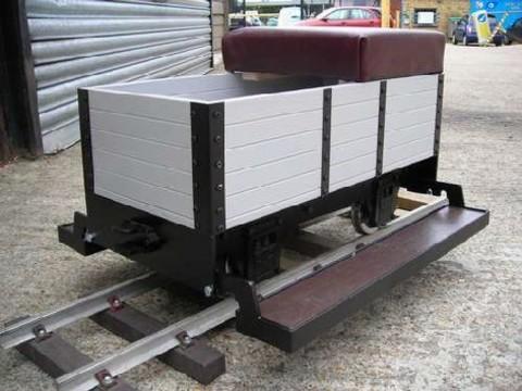 Garden Rail 4-колёсный угольный вагон – деревянный корпус