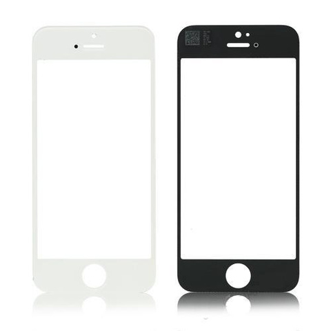 Сенсорное стекло, лицевое стекло iPhone 4/4S черное, белое