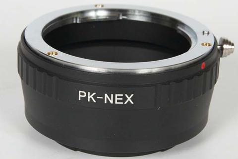 PK-NEX переходное кольцо для установки Pentax объективов на NEX