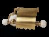 Бумагодержатель закрытый Migliore Provance ML.PRO-60.506 керамика с декором