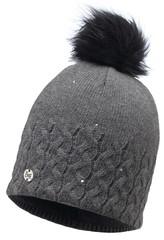 Вязаная шапка с флисовой подкладкой Buff Elie Grey