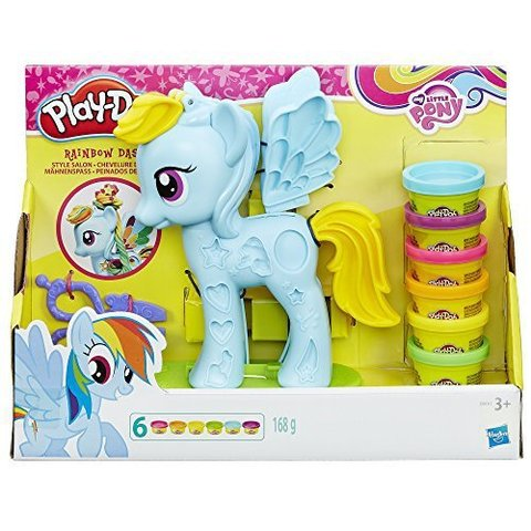 My Little Pony Play-Doh Rainbow Dash Style Salon Set