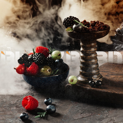 Табак Burn BLACK 20 г Something Berry
