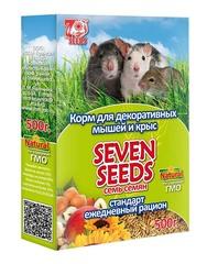 Корм для декоративных мышей и крыс стандарт Seven Seeds