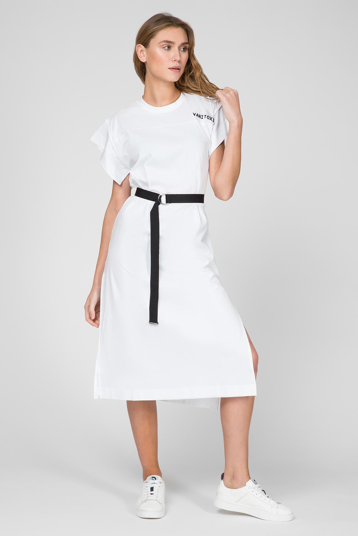 Женское белое платье D-FLIX-B Diesel