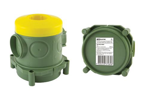Установочная коробка СП 82х80х91,5мм, для заливки в бетон, инд. штрихкод, TDM