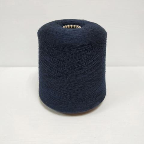 Biella Yarn by Sudwolle, Victoria, Меринос 100%, Очень темный синий, 2/48, 2400 м в 100 г