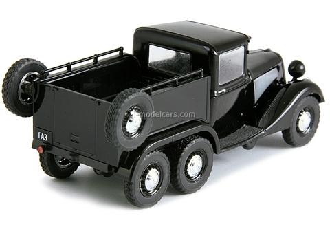GAZ-21 PickUp 6х4 1936 black 1:43 DeAgostini Auto Legends USSR #113