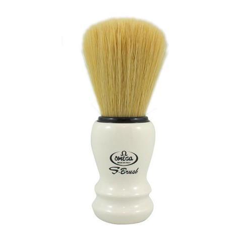 Помазок для бритья Omega Синтетика белый S10108