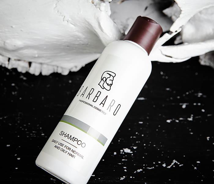 RAZ1016 Мужской шампунь для нормальных и жирных волос Barbaro (220 мл) фото 04