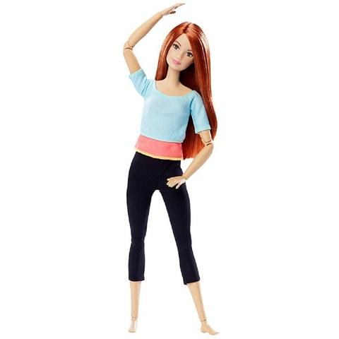 Барби в голубом топе. Безграничные движения