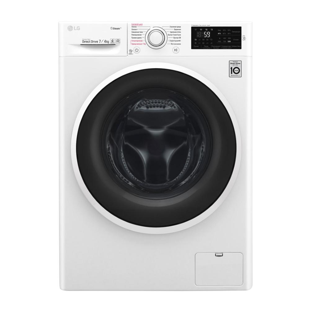 Узкая стиральная машина LG с функцией пара и сушки F2J6HG0W