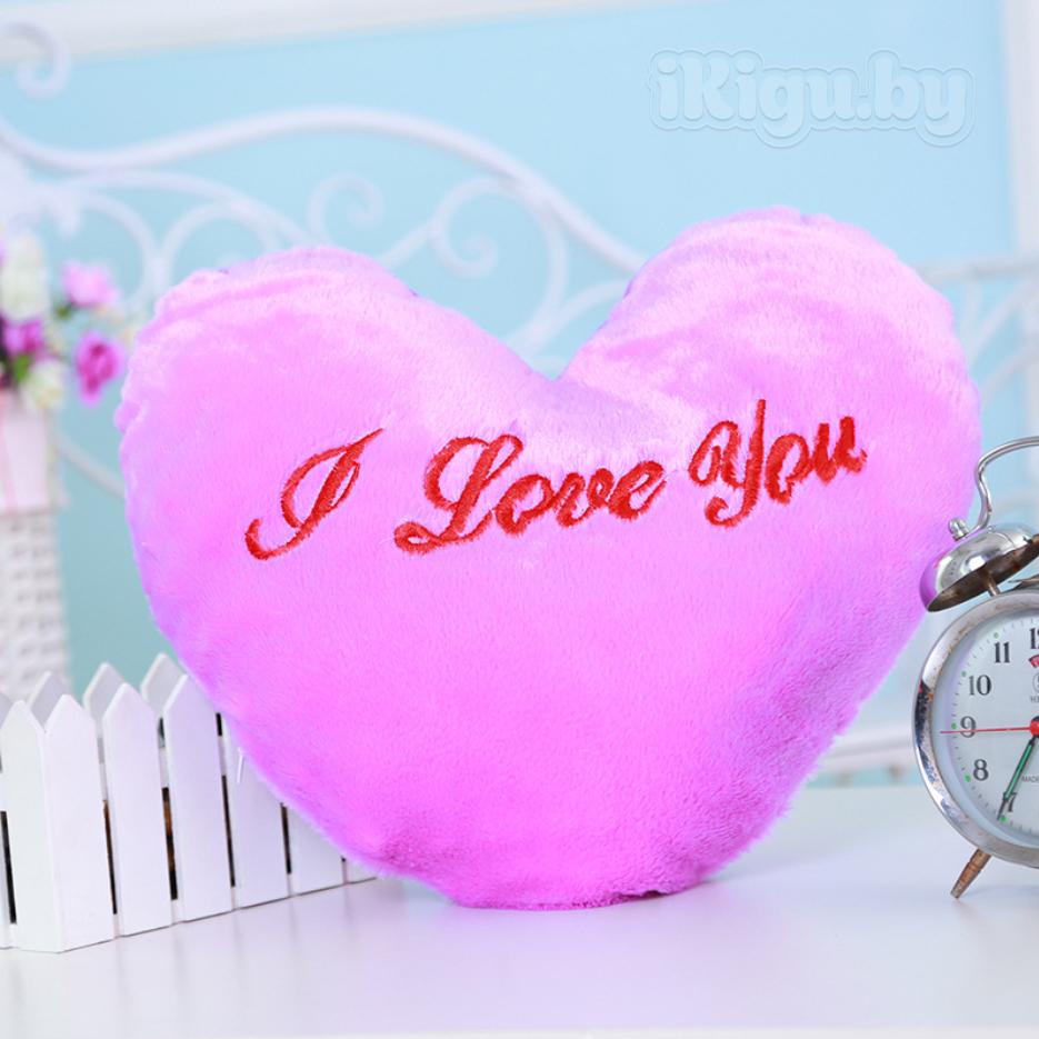 """Подушки Светящаяся подушка """"Сердце"""" подушка_сердце2.jpg"""