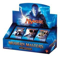Дисплей бустеров выпуска Modern Masters 2017