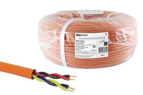 Кабель КПСнг(А)-FRLSLTx 2х2х0,2 мм² (200м) TDM