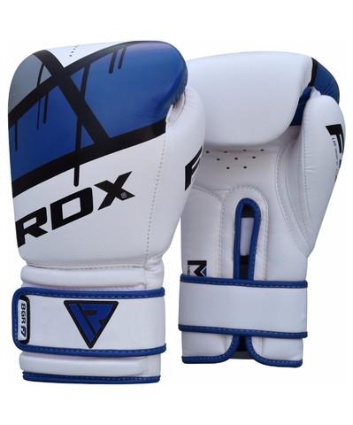 Перчатки боксерские BGR-F7 RDX синие