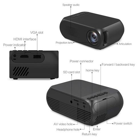 Проектор LED YG-320 Mini