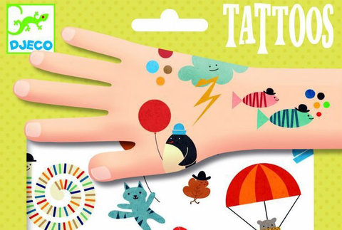 Татуировки Забавные мелочи Djeco