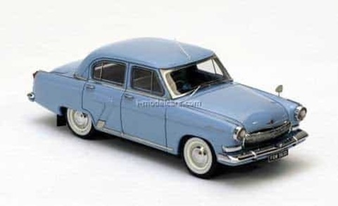 GAZ-21N Volga right hand drive 1965 blue 1:43 VVM / VMM