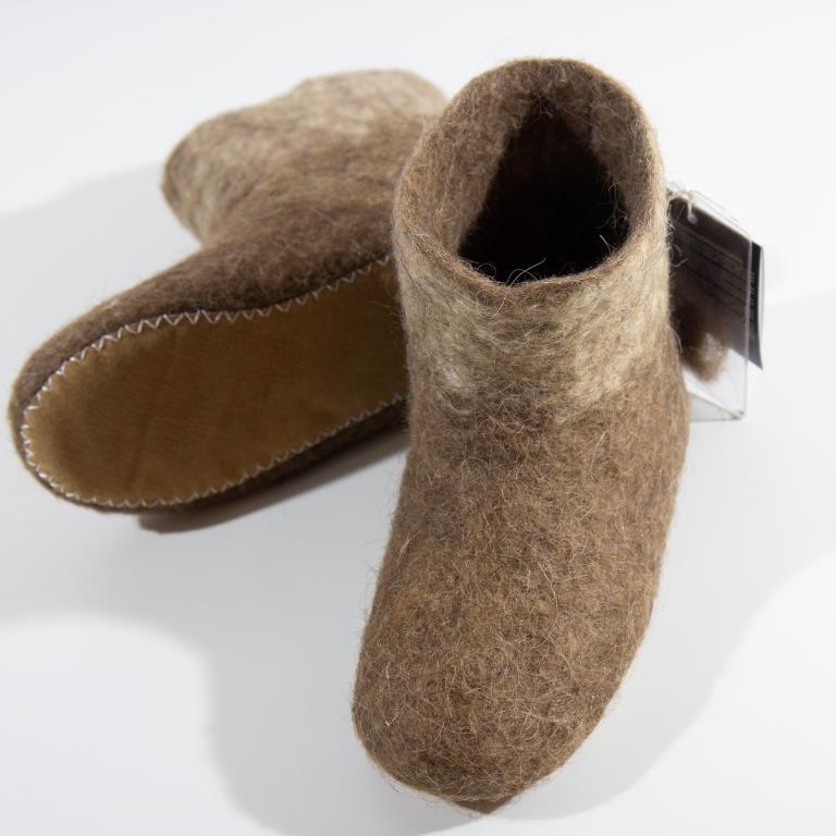 Носочки согревающие из верблюжьей шерсти