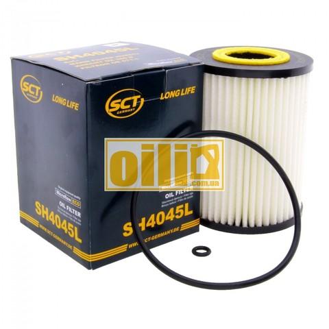 Фильтр масляный SCT SH4045L (Mercedes-Benz)