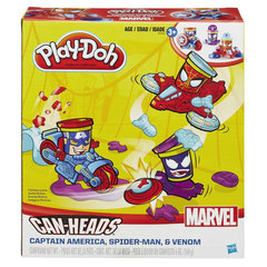 Play-Doh Marvel Can Heads Vehicle