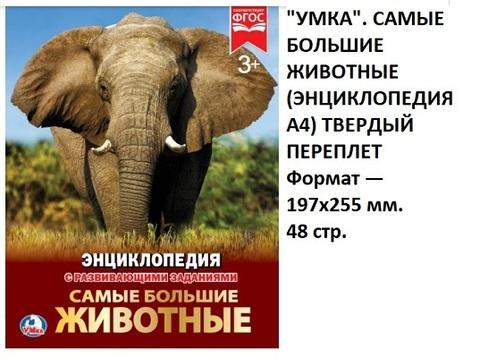 Книга Энциклопедия Самые большие животные 02287-9