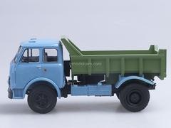 MAZ-503A tipper 1970 blue-green 1:43 Nash Avtoprom