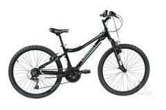 подростковый велосипед Crosset XC24 черный