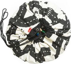 Коврик-мешок для игрушек (2 в 1) Play&Go Print ДОРОЖНАЯ КАРТА 79972