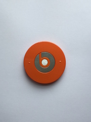 Крышка батарейного отсека Beats Studio (Оранжевый)