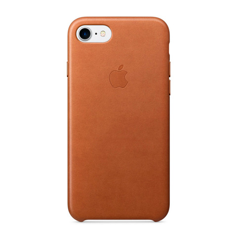 Чехол iPhone 7 Leather Case /saddle brown/