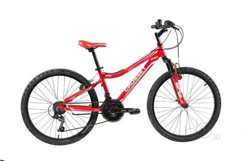 подростковый велосипед Crosset XC24 красный