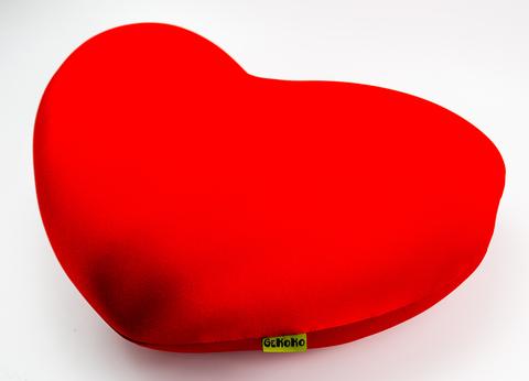 Подушка-игрушка антистресс «Большое красное сердце» 3
