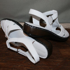 Сандали босоножки женские Evromoda 15 White.