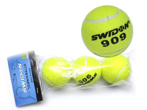Мячик для тенниса. В упаковке 3 шт. 909-3