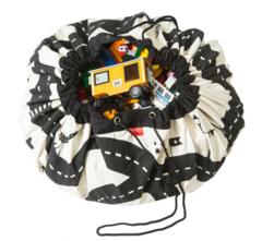 Коврик-мешок для игрушек (2 в 1) Play&Go Print ДОРОЖНАЯ КАРТА 79972 2
